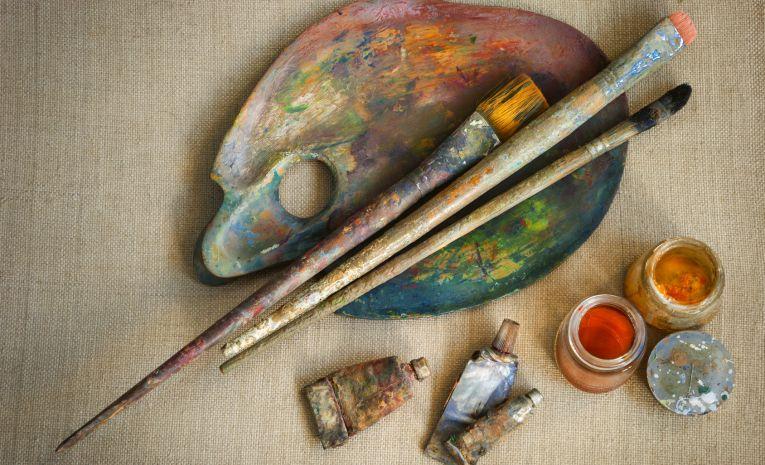 Dessin, peinture huile acrylique aquarelle