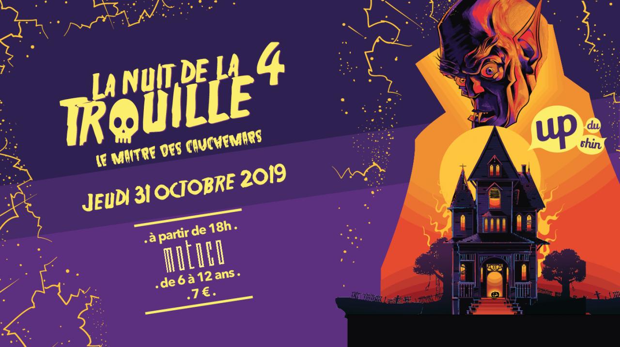 Nuit de la Trouille 4 - Soirée Halloween à Mulhouse