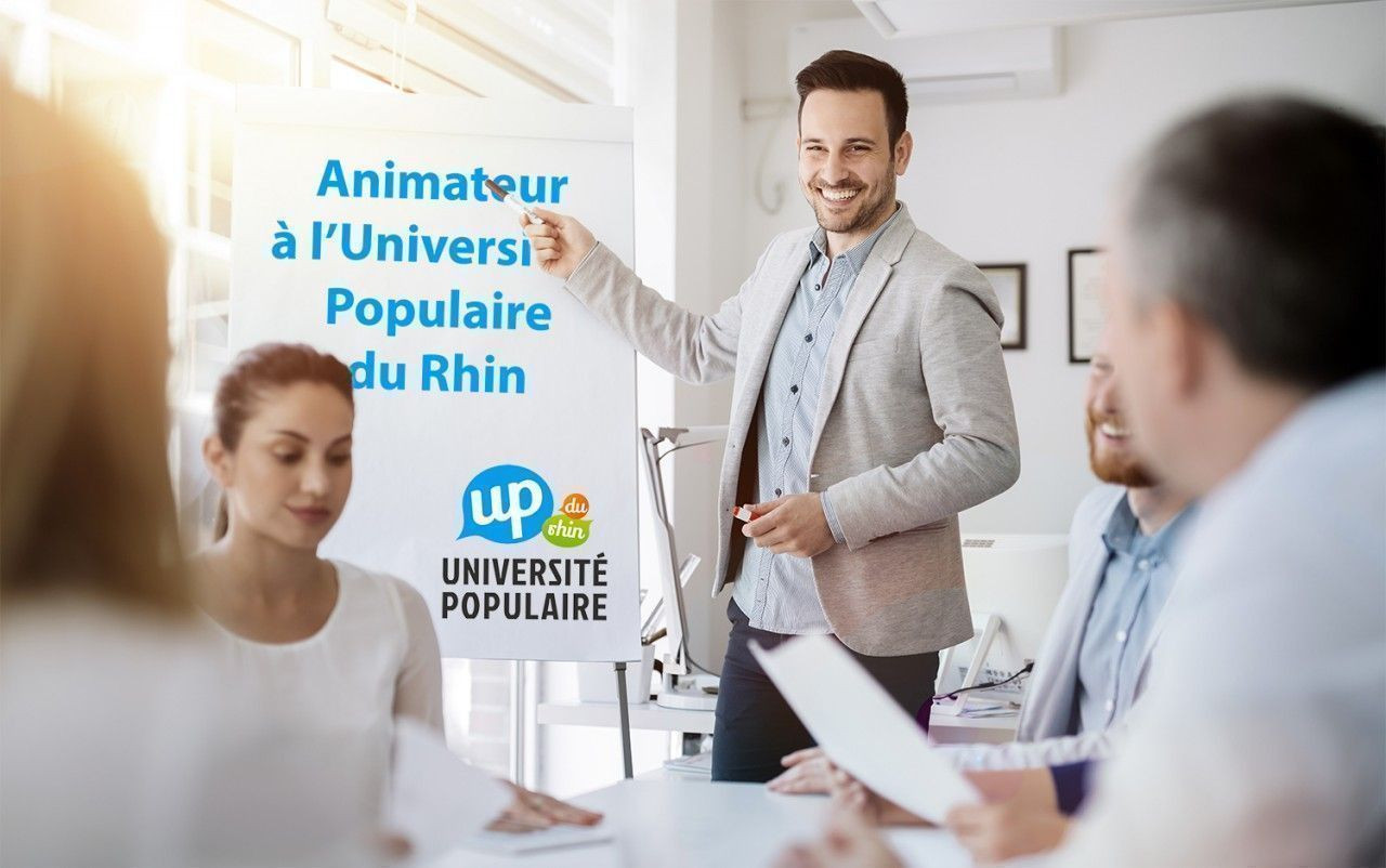 Devenir animateur à l'Université Populaire du Rhin